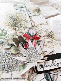 Papierspirale - Weihnachten für Dich Album mit Material von Alexandra Renke Album, Diy Paper, Gift Wrapping, Wilde, Joy, Table Decorations, Material, Gifts, Home Decor