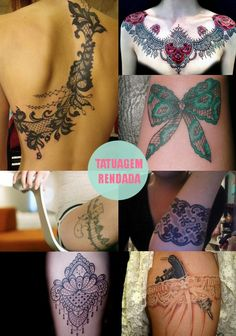 My next tattoo is definitely going to be lace.  Now to find the time & money to get it done  :)