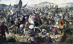 15 June - the Battle of Kosovo was fought between Sultan Murad I's Ottoman Empire and a Serbian coalition army led by Prince Lazar Hrebeljanović near Priština. Battle Of Kosovo, Sultan Murad, Turkish Army, Prince, Ottoman Empire, Serbian, Eastern Europe, Warfare, Islam