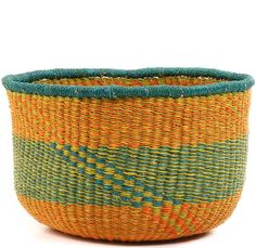 African Medium Market Bowl - Ghana Bolga -  12 Inches Across - #52864