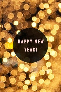 HAPPY NEW YEAR EVERYONE or happy New Year's Eve for some of y'all. I hope you all have a wonderful 2016!