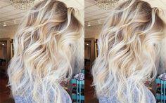 Cabelos Loiros - 10 loiros para você se inspirar - loiro claro, platinado, loiro mel, raiz apagada e castanho iluminado Hairstyles Haircuts, Wedding Hairstyles, Ombre Hair, Blonde Hair, Feminine Style, Hair Inspiration, Hair Makeup, Hair Cuts, Hair Color