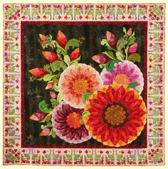 1st Duet quilt by Claudia Clark Myers & Marilyn Badger