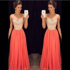 Bg1288 Charming Prom Dresses,Long Evening Dress,Sweetheart Chiffon Prom