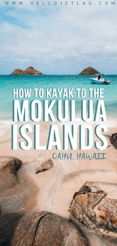 Everything you need to know before kayaking to Mokulua Islands on Oahu. Tips for visiting, things to do, where to rent a kayak, photos and more . Hawaii Travel Guide, Usa Travel Guide, Travel Usa, Travel Tips, Arizona Travel, Texas Travel, Florida Travel, Kailua Beach, Us Destinations