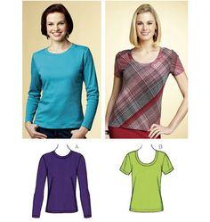 Tops k3766 Tunic Sewing Patterns, Dress Making Patterns, Vintage Sewing Patterns, Clothing Patterns, Sewing Tutorials, Sewing Crafts, Sewing Projects, Sewing Ideas, Sewing Studio