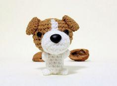 Amigurumi Jack Russell Pattern : Shiba amigurumi dog crochet pattern english language with