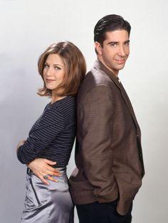 Friends-Stars: Jennifer Aniston und David Schwimmer als Rachel Green und Ross Geller.