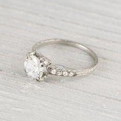 Best 70 Breathtaking Vintage Engagement Rings Inspirations  https://oosile.com/104-breathtaking-vintage-engagement-rings-inspirations-2034