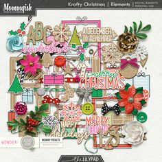 Krafty Christmas   Elements