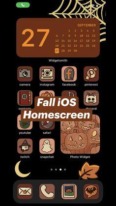 Fall iOS  Homescreen
