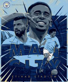 WHIP wanted to present their skills in art direction, video, motion graphics, illustration and music around MANCHESTER CITY. The Etihad Stadium / Gabriel Jesus, Sergio Agüero and Leroy Sané. Memphis, Manchester City Wallpaper, Squad Photos, Cute Panda Wallpaper, Panda Wallpapers, City Illustration, Old Trafford, Arsenal Fc, Premier League
