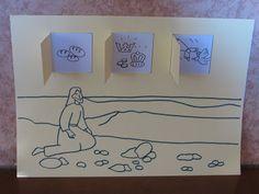 Bricolage : Jésus est tenté au désert