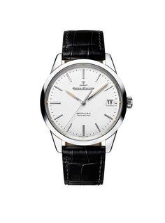 JAEGER-LECOULTRE GEOPHYSIC TRUE SECONDUne montre acier à complication originale : l'aiguille des secondes ne «glisse» pas comme sur les autres montres mécaniques, mais «saute» à chaque seconde. Elle a aussi un indicateur de date. 8 400 €