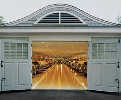 20,000 sq ft car barn, Penobscot Bay, Maine