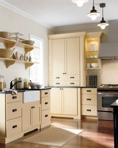 Cabinets, Maidstone PureStyle Collection, By Martha Stewart Living  Kitchens, From Homedepot.com