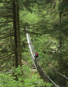 47-mile West Coast Trail on Vancouver Island, British Columbia