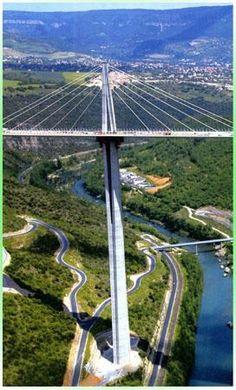 highest bridge in the world .. France - Viaduc de Millau