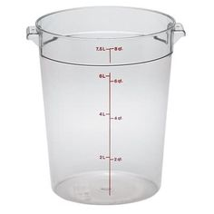 8 Qt Round Container - Cambro (RFSCW8)