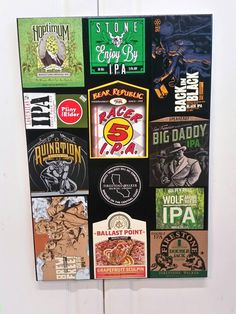 Check out this item in my Etsy shop https://www.etsy.com/listing/247038241/california-breweries-collage