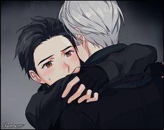 Victor and Yuri  #yuri on ice