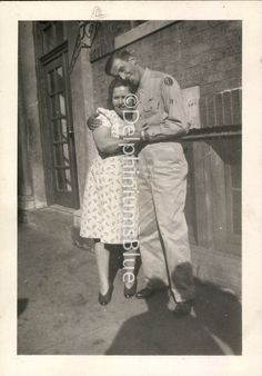 Vintage Black and White WW ll  Photo Soldier by delphiniumsblue, $5.00