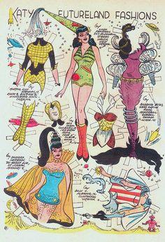 vintagegal:  Katy Keene #40 (1958)