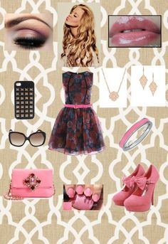"""""""Pink!"""" by emilly101fasion ❤ liked on Polyvore"""