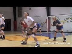 Volleyball Drills for Quick Side To Side Movements