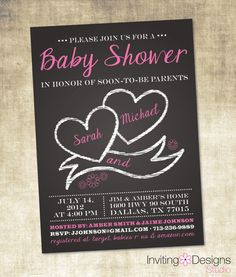 Hey, I found this really awesome Etsy listing at http://www.etsy.com/listing/108764939/girl-baby-shower-invitation-chalkboard