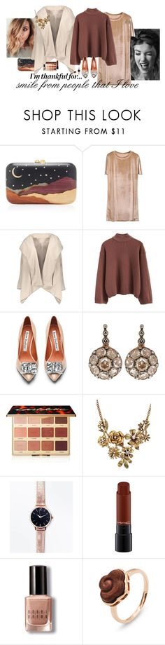 """""""...For a smile..."""" by claire86-c ❤ liked on Polyvore featuring Silvia Furmanovich, Acne Studios, Selim Mouzannar, tarte, WithChic, New Look, MAC Cosmetics and Bobbi Brown Cosmetics"""