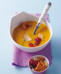 Möhren-Mango-Suppe Rezept - [ESSEN UND TRINKEN]