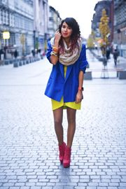 Great colour clashing!!!
