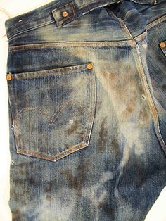 """We've got some information on two special pairs of Levi's 501XX coming in July. They'll pull from two vintage finds from the Levi's archive – the """"Spur Bites"""" and the """"Barnyard"""" (both purchased by the Levi's archive brand back in 1997 and 1998 respectively) . A good deal of facts are known on both pairs. …"""