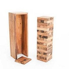 Stacking Games - Wooden Tower Game 54 Blocks 9 Inch Medium >>> Click image for more details.