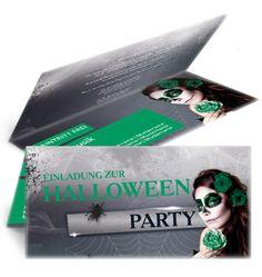 Einladungskarte Halloween Party. #halloweenparty #halloween #halloweeneinladung