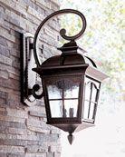 outside lantern