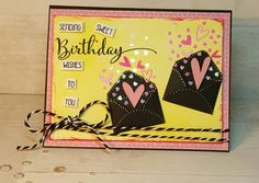 Happy Birthday card created using Honey Bee Stamps.