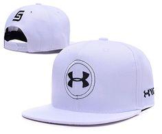 Men s Under Armour x Jordan Spieth UA Circle Logo Embroidery Snapback Hat -  White   Black 927d6a0ef374
