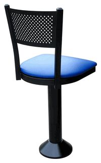 Meshed Back Counter Stool - click image to enlarge