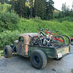 Downhill Bike, Mtb Bike, Road Bike, Cool Trucks, Cool Cars, Rat Rod Cars, Rat Rods, Vw Beach, Trophy Truck