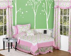 love color combo for girls room