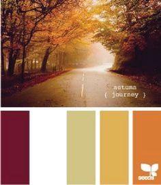 paleta de colores acogedores