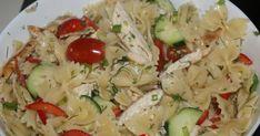 Εξαιρετική συνταγή για Μακαρονοσαλάτα άκρως καλοκαιρινή. Ένα καλοκαιρινό πιάτο που ενδείκνυται ως κυρίως γεύμα για τις ζεστές ημέρες του καλοκαιριού. Cookbook Recipes, Cooking Recipes, My Favorite Food, Favorite Recipes, Appetisers, Yams, Greek Recipes, Pasta Salad, Potato Salad