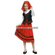 Tu mejor disfraz de pastorcilla infantil para niña bt 19772.Este comodísimo traje es perfecto para carnavales, espectáculos, cumpleaños y tambien para las fiesta de los colegios como fin de curso o cualquier otras actividades.