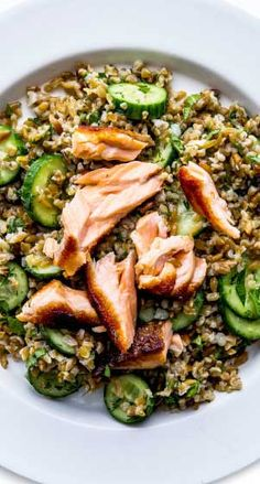 No freekeh? No big. Rice, barley, farro, spelt, or wheat berries are all cool, too.