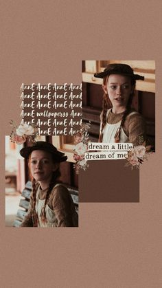 Anne With An E (Wallpapers) - Inspiraflor Anne Of Green Gables, Wallpaper Bonitos, Gilbert And Anne, Amybeth Mcnulty, Anne White, Gilbert Blythe, Anne With An E, Anne Shirley, Story Instagram