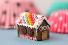 deviantART: More Like Polymer Clay Tutorial - Wonky Cake by ~PetitPlat