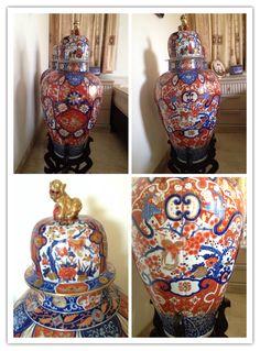 Antique Imari Vases
