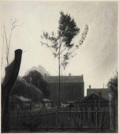 Rachel Ellis Evensong 2011 charcoal on paper 112.5x99.5cmx